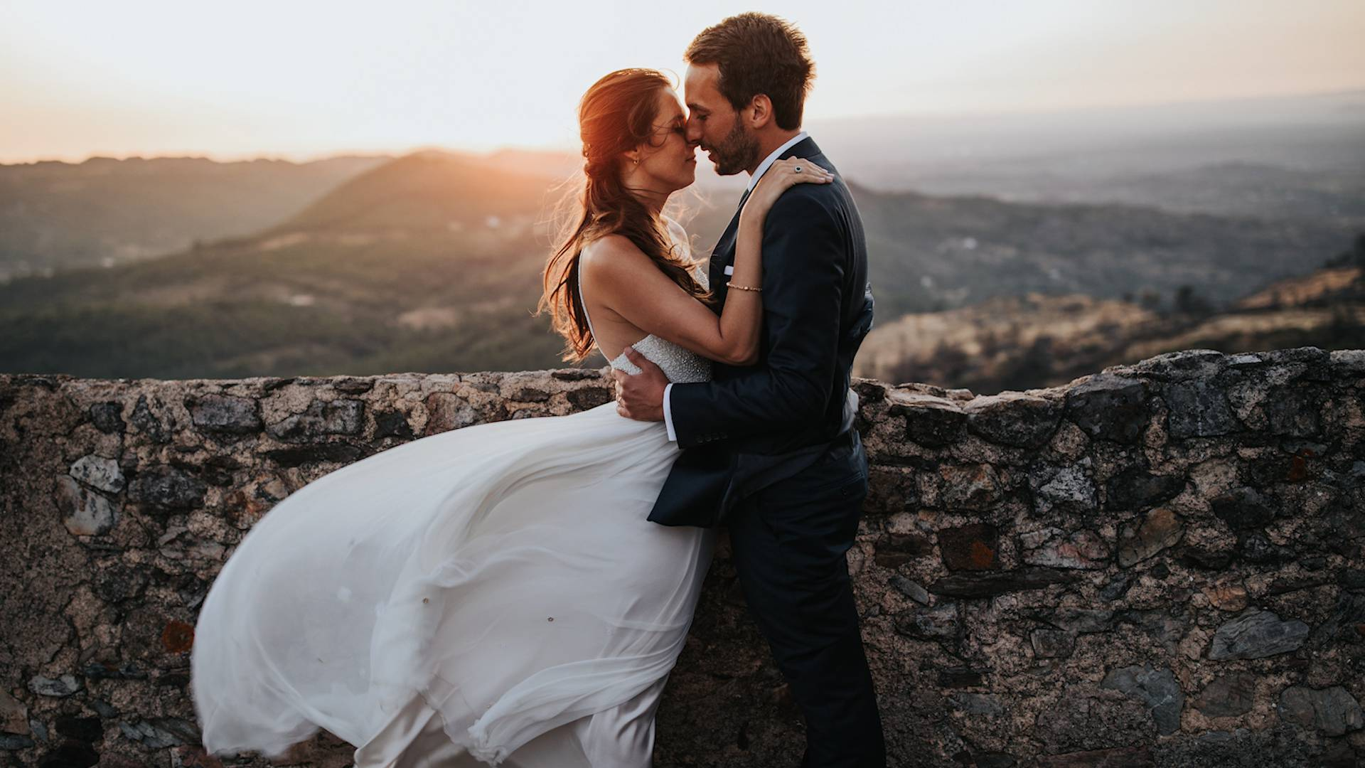 Wonderful wedding at Castelo de Marvão